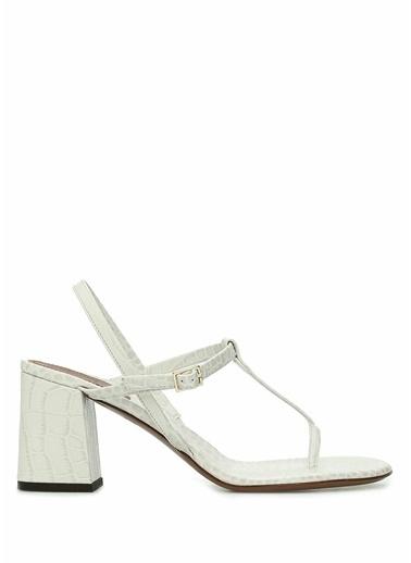 L'Autre Chose Sandalet Beyaz